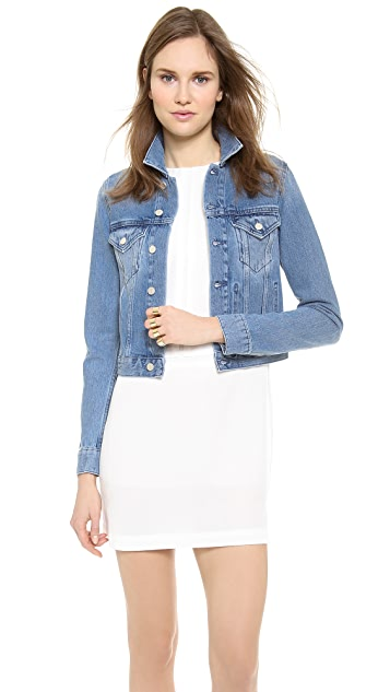 Acne Studios Tag Light Vintage Denim Jacket