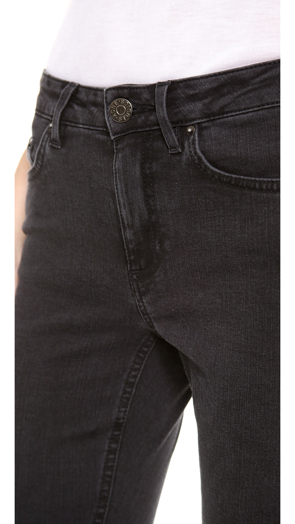 Acne Studios Skin 5 Jeans Shopbop Vintage Rip Off Stretch Soft