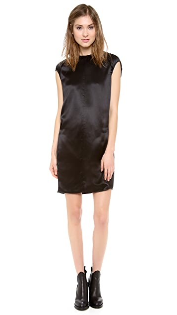 Acne Studios Teddi Satin Dress