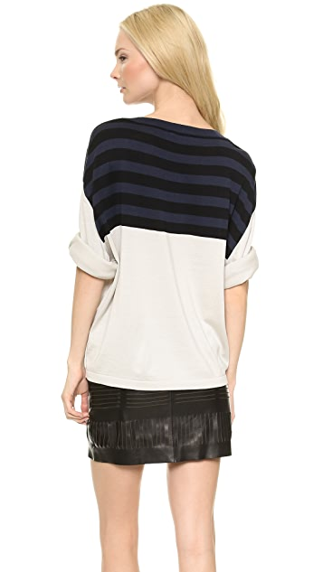 Acne Studios Optic Stripe Sweater