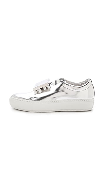 Acne Studios Adriana Metallic Sneakers