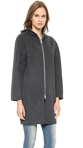Acne Studios Emile Double Wool Coat