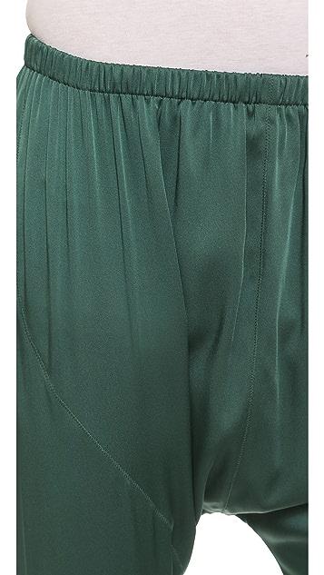 Acne Studios Hit Silk Harem Trousers