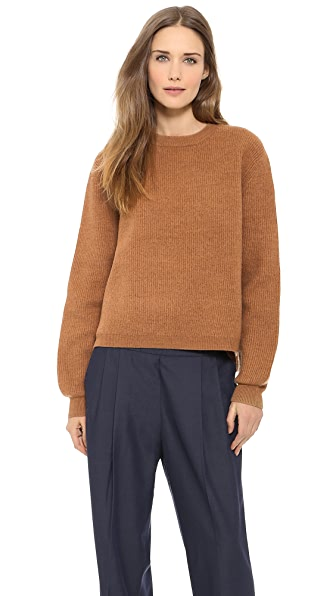 Acne Studios Misty Boiled Wool Zip Sweater