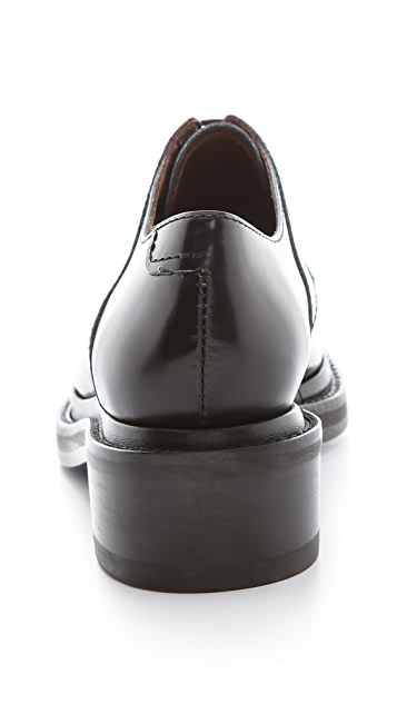 Acne Studios Lark Lace Up Oxfords