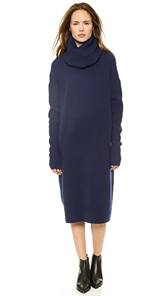 Acne Studios Dita L Wool Sweater Dress