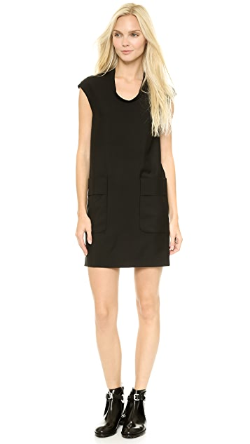 Acne Studios Palmer Wool Shift Dress