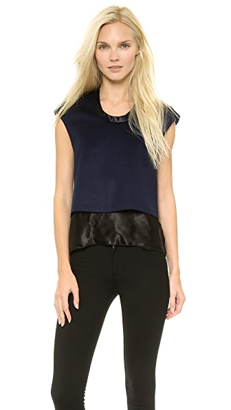 Acne Studios Joey Raw Layered Top
