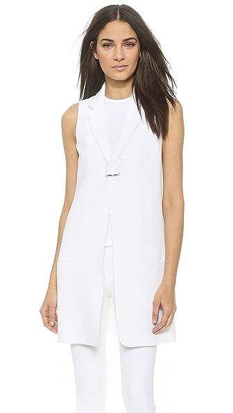 Acne Studios Florin Crepe Suiting Vest
