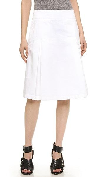 acne studios kate denim skirt shopbop