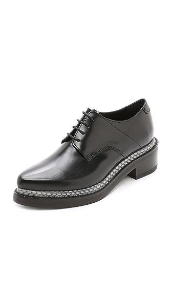 Kupi Acne Studios online i prodaja Acne Studios Lark Oxfords Black/Grey haljinu online