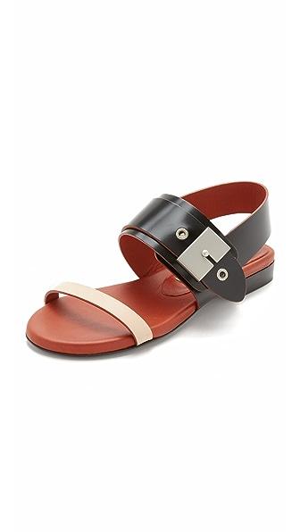 Acne Studios Ade Flat Sandals