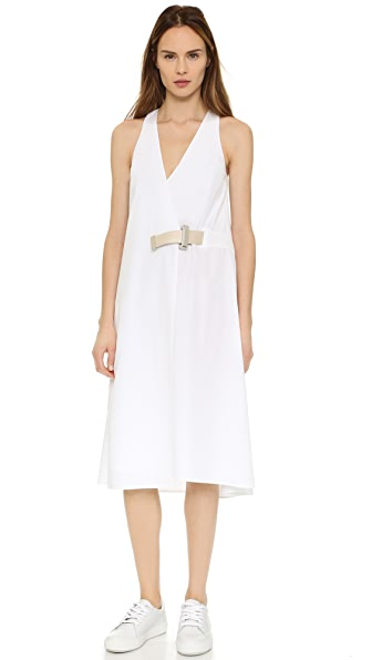Acne Studios Chen Wrap Dress