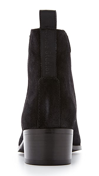 ACNE STUDIOS Jensen Pointy-Toe Ankle Boot, Black