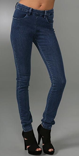 Acne Skin Zipper Back Jeans