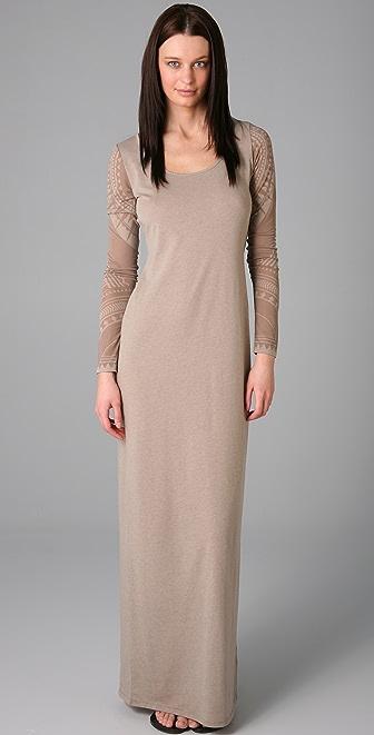 Acne Extreme Burnout Long Dress