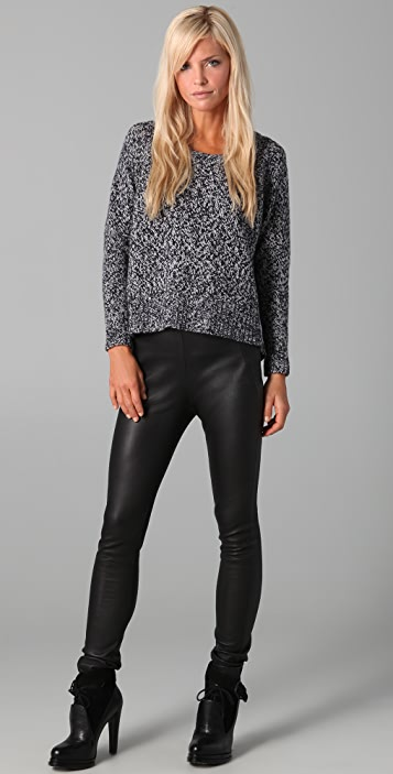 Acne Ruth Twisted Sweater