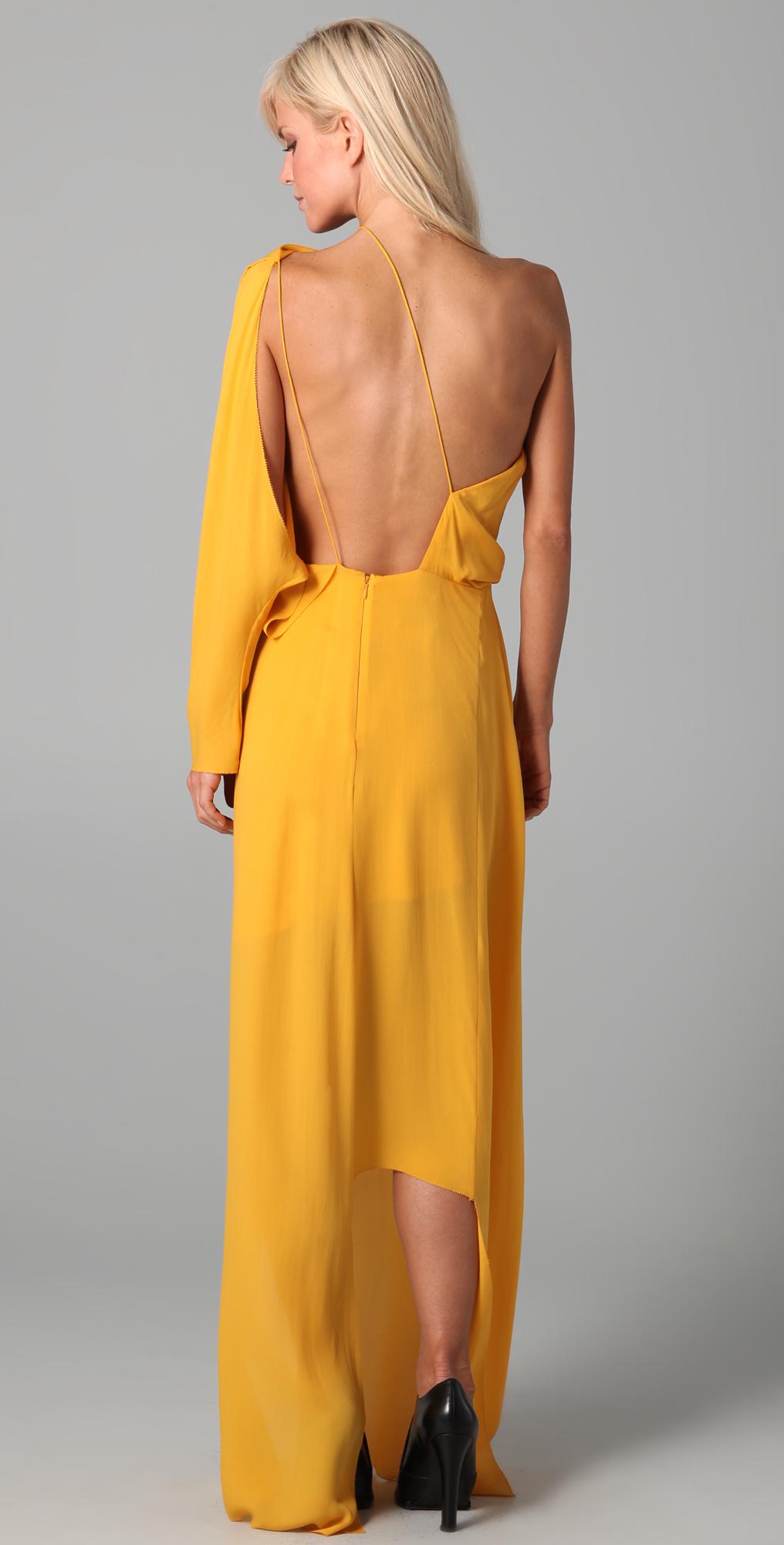 Kim kamperman yellow dress retail