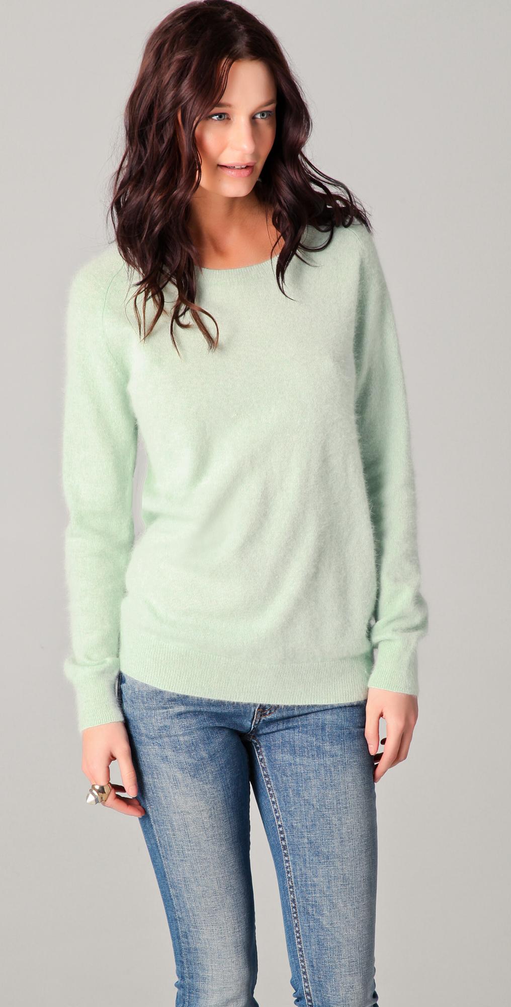 Acne Ry Angora Sweater | SHOPBOP