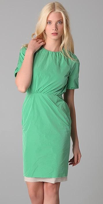 Acne Lucille Taffeta Dress