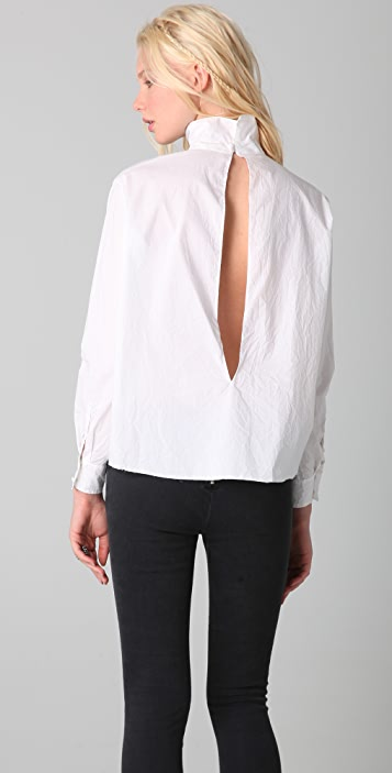 Acne Judy Poplin Shirt
