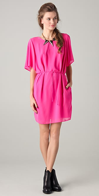Acne Moreau Crepe Dress