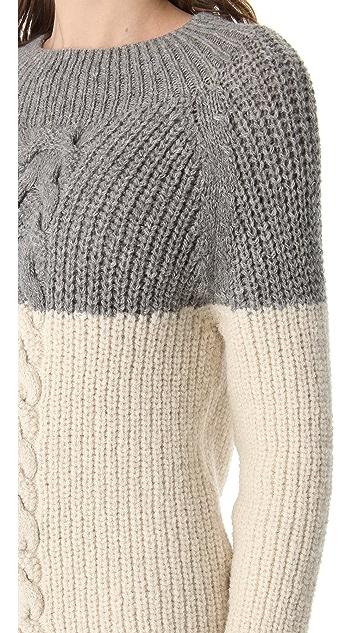 Acquaverde Colorblock Sweater