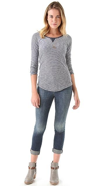 Acquaverde Ankle Skinny Jeans