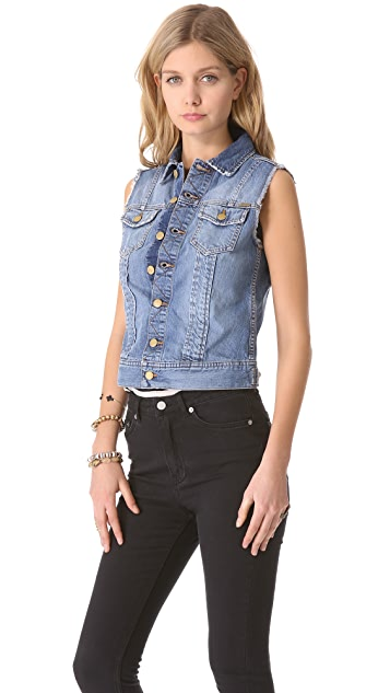 Acquaverde Loris Denim Vest