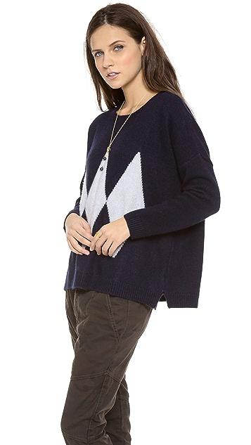 Acquaverde Diamond Sweater