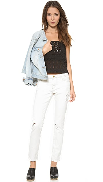 Acquaverde Gisele Distressed Jeans