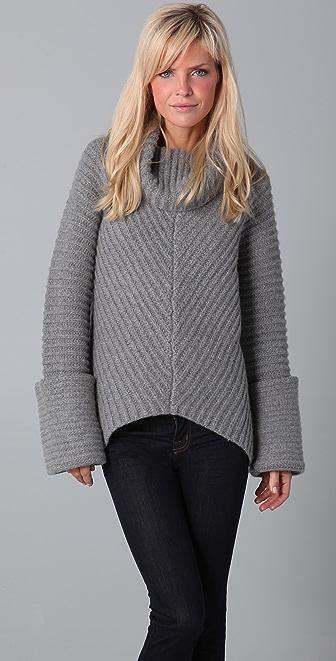 ADAM Cowl Neck Sweater