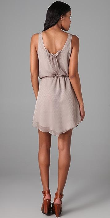 ADDISON V Weave Dress