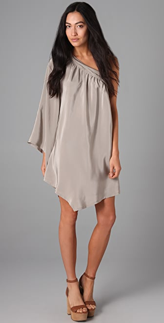 ADDISON One Shoulder Dress