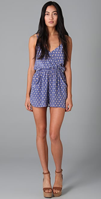 ADDISON Medallion Romper