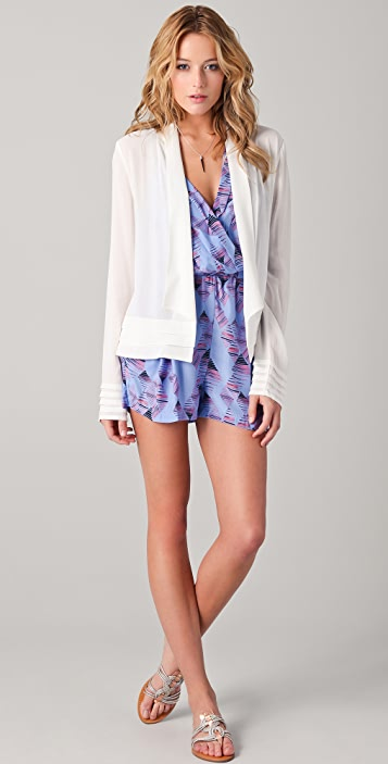 ADDISON Printed Romper