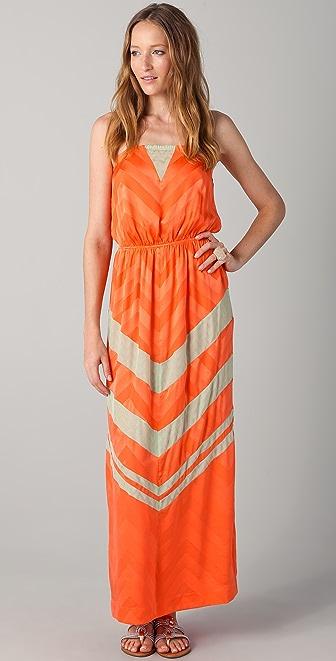 ADDISON Strapless Maxi Dress