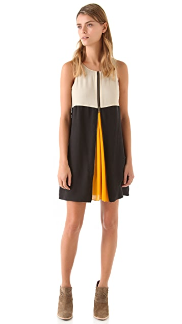 ADDISON Peek-a-Boo Tank Dress