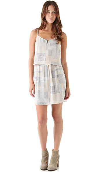 ADDISON Sleeveless Printed Dress