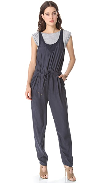 ADDISON T Shirt Layered Jumpsuit