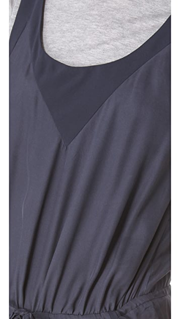 ADDISON T Shirt Layered Jumpsuit
