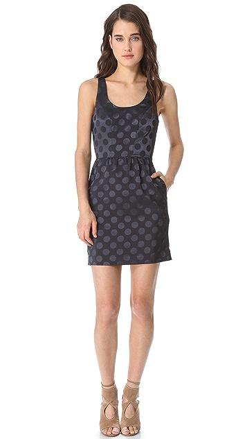 ADDISON Cutout Crisscross Dress