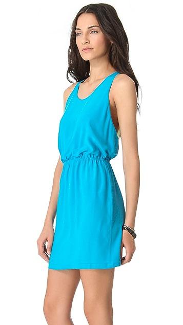 ADDISON Contrast Back Dress