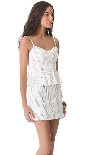 ADDISON Thompson Peplum Dress