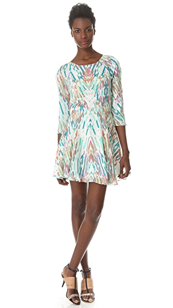 ADDISON Vista Raglan Seamed Dress