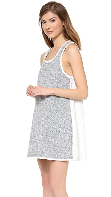 ADDISON Roxy Oversized Pocket Swing Dress