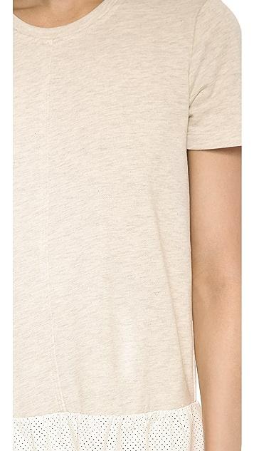 ADDISON Dawson Drop Waist Sweatshirt Dress