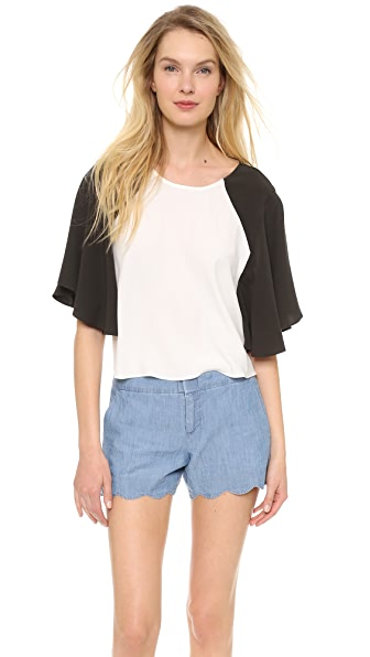 ADDISON Blake Swing Sleeve Top