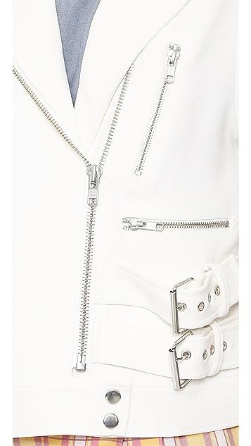 ADDISON ADDISON x We Wore What Structured Moto Vest