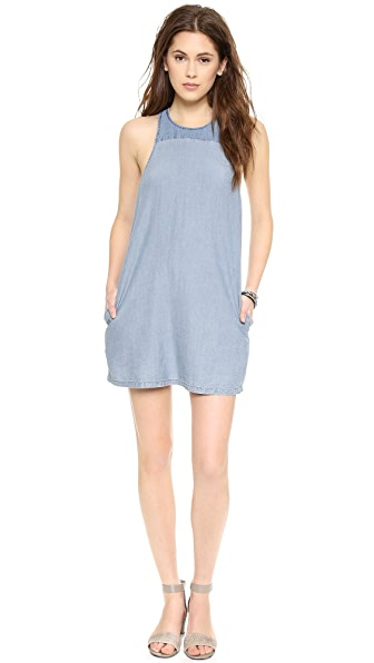 ADDISON ADDISON x We Wore What Angled Yoke Shift Dress